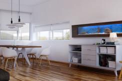 Akwarium Ścienne Wiszące 195x50x16cm, LED pojemność 85l