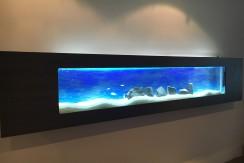 Akwarium Ścienne Wiszące 195x40x16cm ECO, pojemność 63 litry