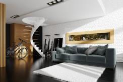Akwarium Ścienne Wiszące 275x52x15cm LED pojemność 132 L